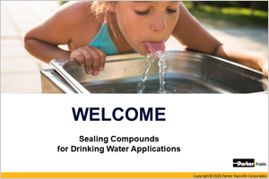 Sealing Compounds for Drinking Water Applications