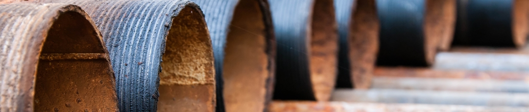 Corroding pipes