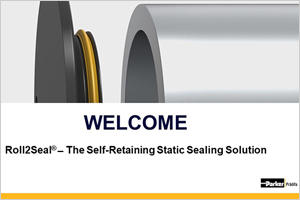 Roll2Seal®  ̶  The Self-Retaining Static Sealing Solution