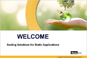 Sealing Solutions for Static Applications