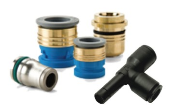 fittings and quick couplings for ventilators