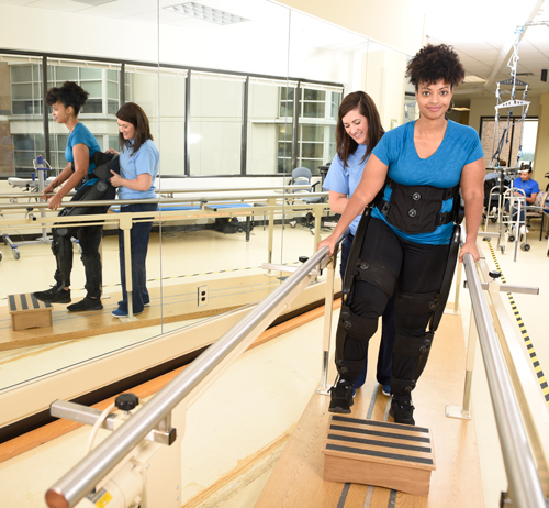 The Indego Therapy exoskeleton is used in numerous rehabilitation centers worldwide.