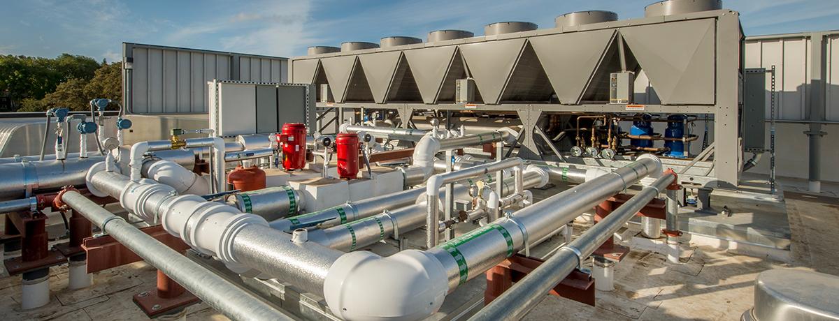 hospital hvac filtration rooftop
