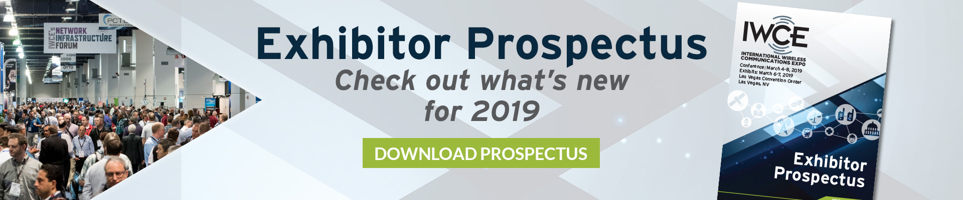 IWCE 2019 Exhibitor Prospectus Download Form