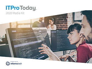 ITPro Today 2020 Media Kit
