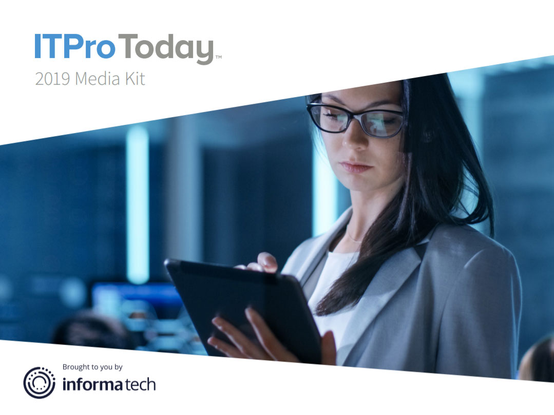 ITPro Today 2019 Media Kit
