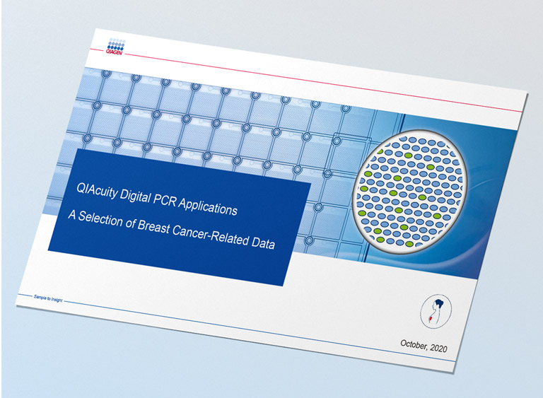 QIAcuity digital PCR applications: A selection of breast cancer-related data