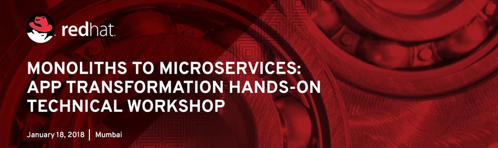 Microservices workshop Mumbai