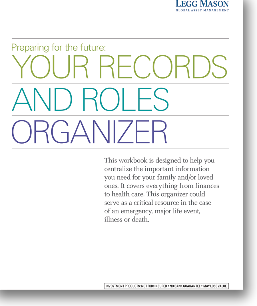 Your Records and Roles Organizer