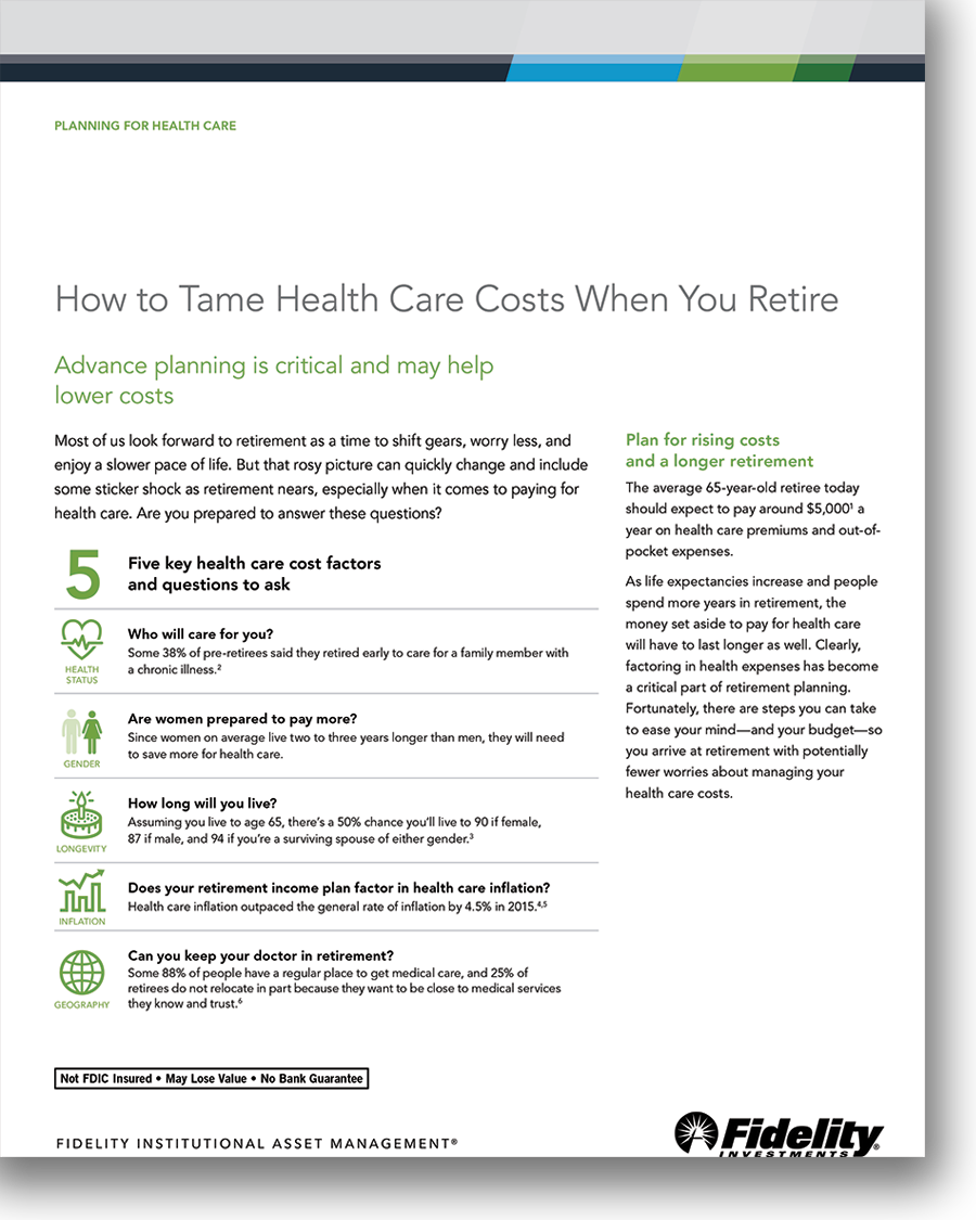 How to Tame Health Care Costs When You Retire
