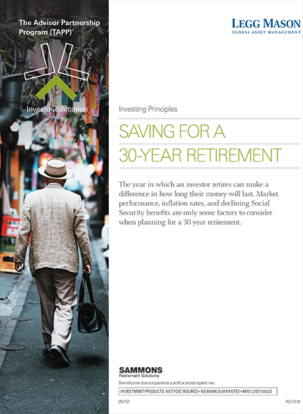 Saving for a 30-Year Retirement