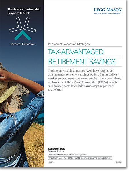 Tax-Advantaged Retirement Savings