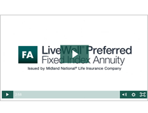 LiveWell Preferred Fixed Index Annuity video