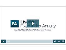 LiveWell Fixed Index Annuity video