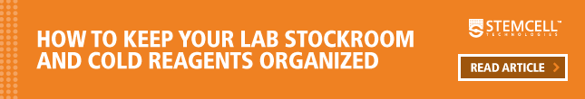 Learn how to keep your lab stockroom and cold reagents organized.