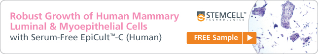 Robust Growth of Human Mammary Luminal & Myoepithelial Cells with Serum-Free EpiCult-C (Human) Request a Free Sample