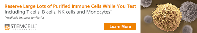 Reserve Large Lots of Purified Immune Cells While You Test. Including T cells, B cells, NK cells and Monocytes