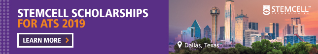 STEMCELL Technologies Scholarships - Present Great Research at ATS 2019 - Learn More >>
