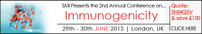Invitation to Attend SMi 2nd Annual Immunogenicity Conference 2015