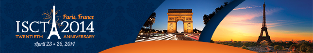 Attend ISCT 2014 in Paris, France!