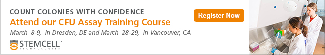 Attend our Training Course to Standardize the Hematopoietic Progenitor Assay for Cord Blood and Bone Marrow Samples