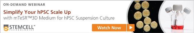 Learn about mTeSR™3D for suspension culture of hPSCs