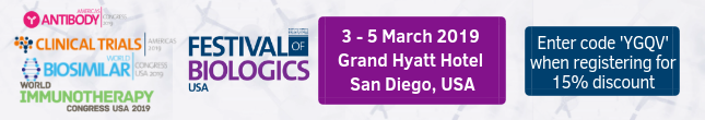 Register for Festival of Biologics 2019