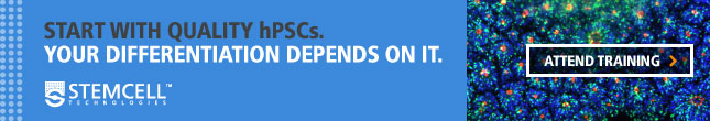 Start with Quality hPSCs. Your Differentiation Depends On It. Attend Training