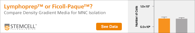 GLymphoprep™ or Ficoll-Paque™? See Data - Compare Density Gradient Media for MNC Isolation