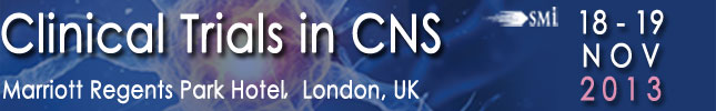 Attend Clinical Trials in CNS on November 17-19, 2013