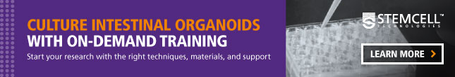 Culture Mouse Intestinal Organoids With On-Demand Training. Learn More