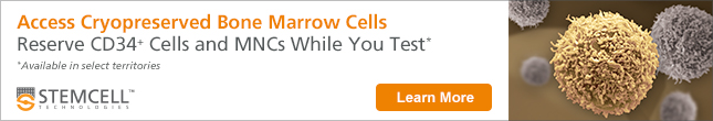 Reserve Cryopreserved Bone Marrow CD34+ cells and MNCs While You Test