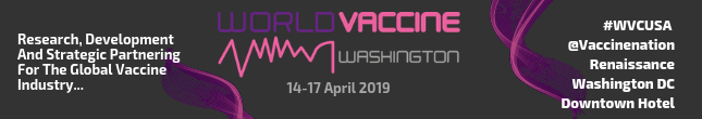 World Vaccines Congress 2019 – 14-17 April Washington DC