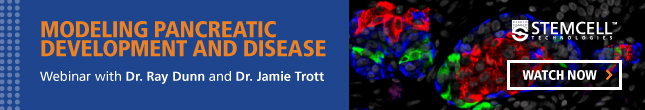 Watch a webinar on using patient-derived iPS cells to model diabetes.