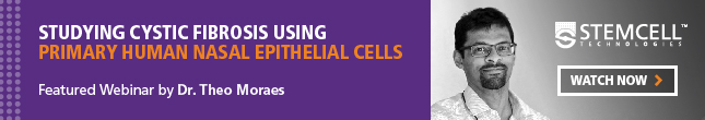 On-demand Webinar on Studying Cystic Fibrosis using Primary Human Nasal Epithelial Cells - Watch Now