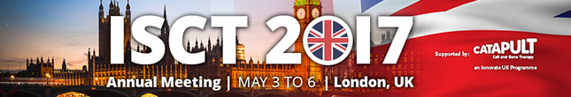 Join ISCT in London May 3-6!