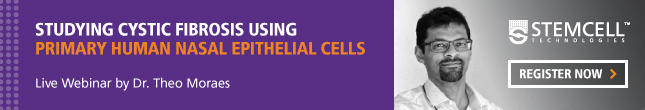 Live Webinar on Studying Cystic Fibrosis using Primary Human Nasal Epithelial Cells - Register Now!