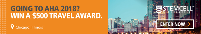 Going to AHA 2018 in Chicago? Enter to win a $500 travel award to help you get there.