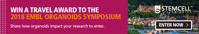 Win a travel award to 2018 EMBL Organoids Symposium