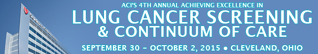 4th Annual Excellence in Lung Cancer Screening & Continuum of Care