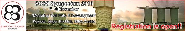 Stem Cell Society Singapore Symposium 2016!