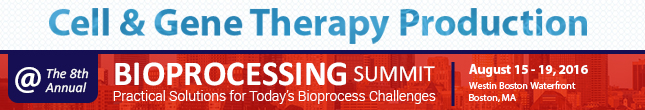 Register for Bioprocessing Summit 2016
