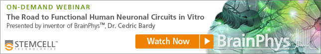 Watch on-demand webinar with Dr. Cedric Bardy, inventor of BrainPhys™