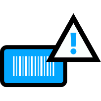 Items lack barcodes