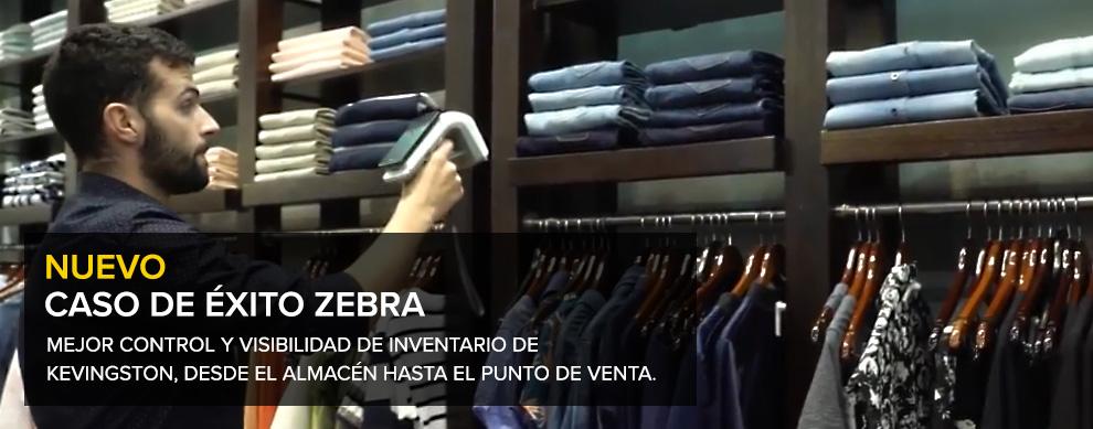 NUEVO CASO DE ÉXITO ZEBRA: MEJOR CONTROL Y VISIBILIDAD DE INVENTARIO DE KEVINGSTON, DESDE EL ALMACÉN HASTA EL PUNTO DE VENTA.