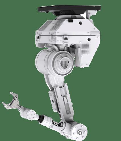 Robot Arm Face Down
