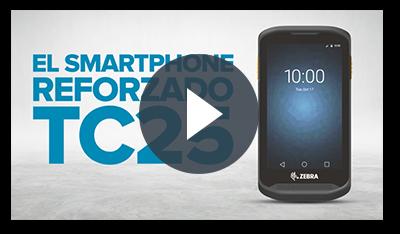 Teléfono inteligente resistente TC25