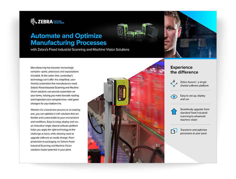 Automate and Optimize Manufacturing Processes