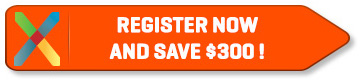 Register Now and Save $300!