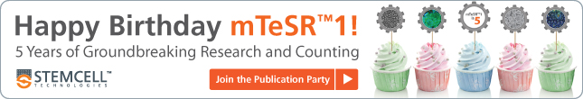 Happy Birthday mTeSR™1! 5 years of Groundbreaking Research and Counting